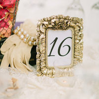Antique Table Number