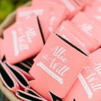 Pink Custom Koozies