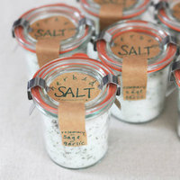 Gourmet Sea Salt Favor Jars
