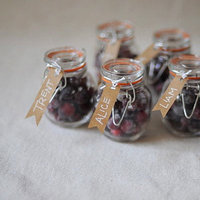 Sugared Cranberry Favors