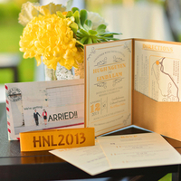 Yellow Custom Invitation Suite