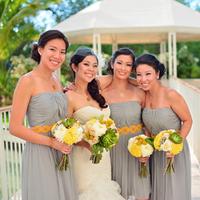 Linda and her Bridesmaids