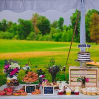 Festive Dessert Display