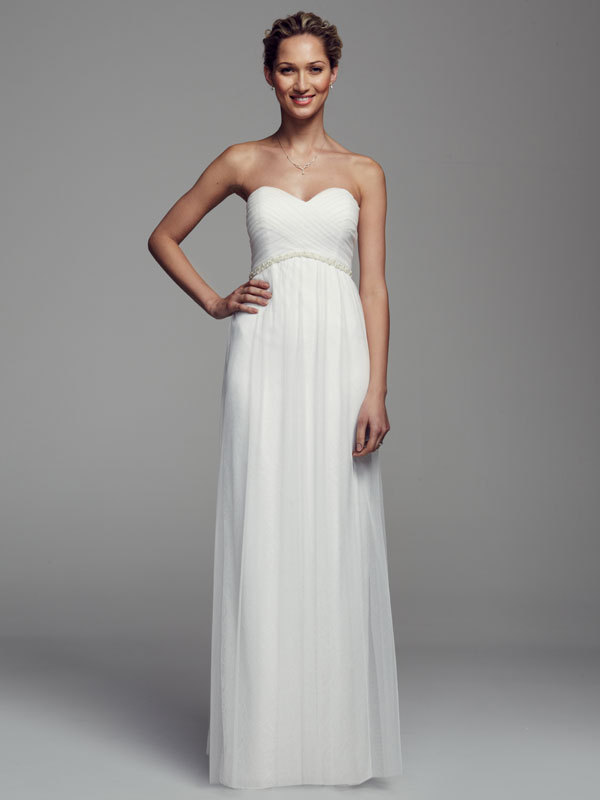 white, Sweetheart, Sheath, Tulle, Floor, Sleeveless