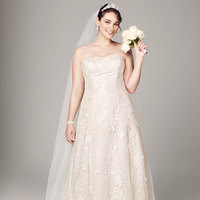 ivory, Champagne, Sweetheart, A-line, Tulle, Floor, Sleeveless