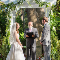 Tropical Garden Ceremony Arch