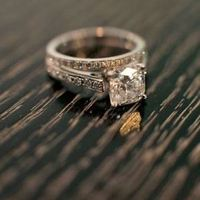 Vintage Princess Engagement Ring