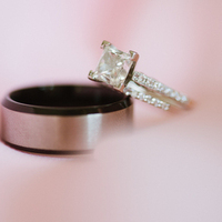 Glamorous Princess Engagement Ring