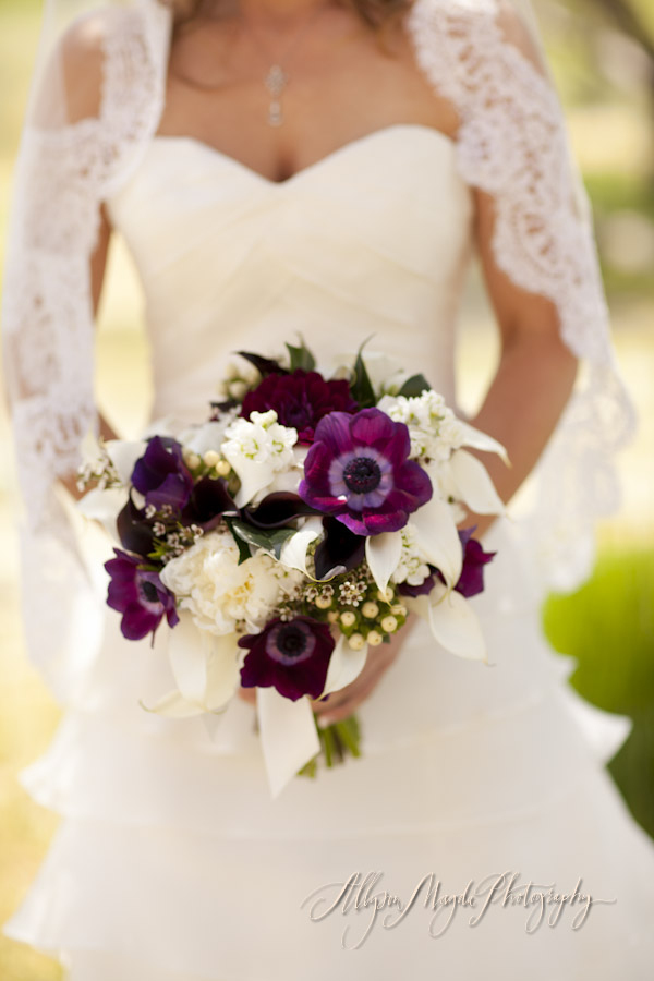 Purple Anemone Bouquet