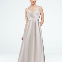 Long, Ballgown, Satin, Tank, Sleeveless, all colors available
