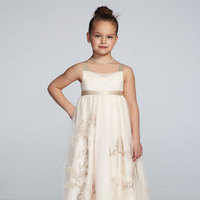 Tulle, Floor, Tank, Sleeveless, Ball gown, whisper pink