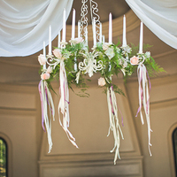 Hanging Flowers and Ribbons