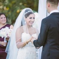 Francisca and Robert Saying Vows