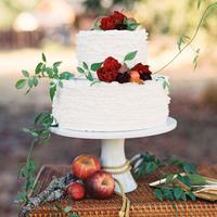 Apple Fall Wedding Cake