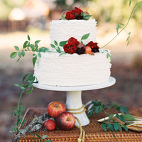Apple Fall Wedding Cake