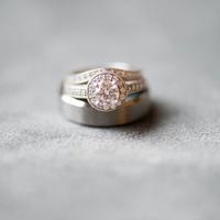 Erica and John's Wedding Rings