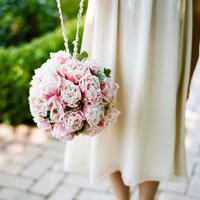 Pink Garden Pomander