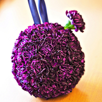 Purple Carnation Pomander