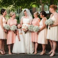 Lori and her Bridesmaids