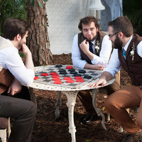 Guests Playing Chess