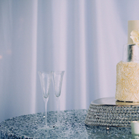 Glam Metallic Cake
