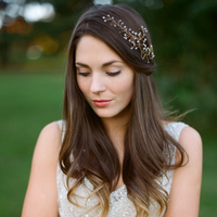 Vine Jeweled Headpiece