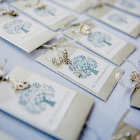 Silver Key Escort Cards