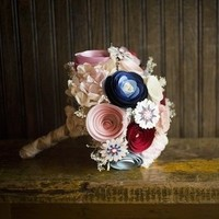 Whimsical Paper Bouquet