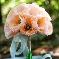 Paper Poppy Bouquet
