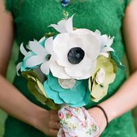 Paper Anemone Bouquet