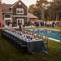 Stunning Backyard Reception