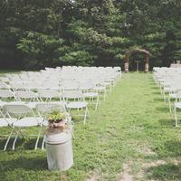 Barnyard Ceremony Scene
