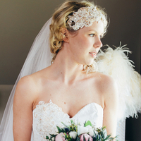 Lucie's Bridal Look