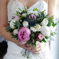 Lucie's Bridal Bouquet