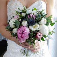 Lucie's Bridal Bouquet