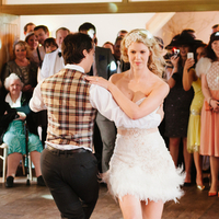 Lucie and Leigh's First Dance