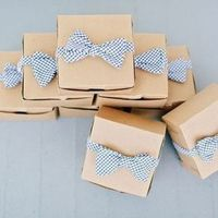 Preppy Gingham Favor Packaging