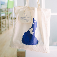 Beachy Tote Bag Favor