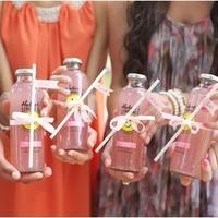 Bottled Pink Lemonade Favors