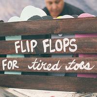 Flip Flop Wedding Favors