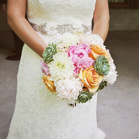 Samantha's Bridal Bouquet