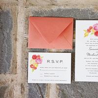 Hand-Painted Invitations