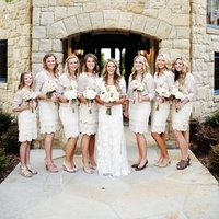 Rachel and her Bridesmaids