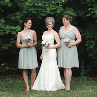 Christina and her Bridesmaids