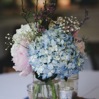 Shabby Chic Style Centerpieces