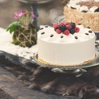 Berry Topped Wedding Cake