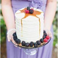 Blackberry Caramel Cake