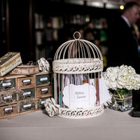 Vintage Style Welcome Table