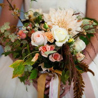 Miranda's Bridal Bouquet