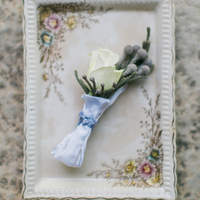 Rose and Brunia Boutonniere